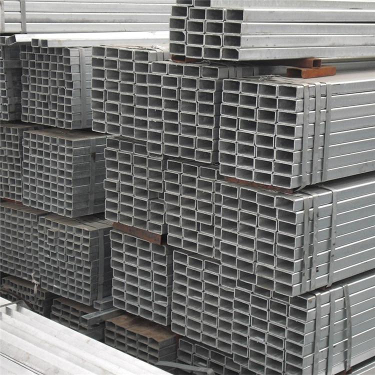 現貨供應鍍鋅方管 鍍鋅方通 空心方40方50方等規格齊全示例圖7