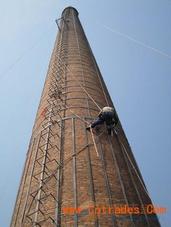 自贡市砖烟囱专业人工拆除,专业人工拆除砖烟囱示例图9