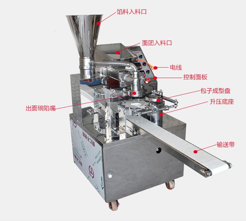 廠家直銷 全自動包子機 商用小型包子機 多功能 仿手工 一體機示例圖13