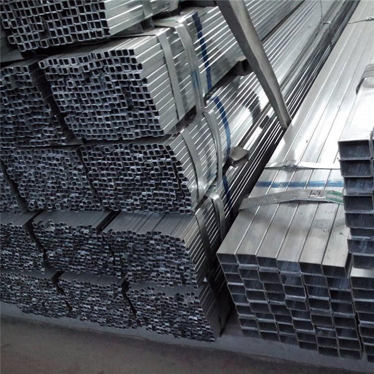 現貨供應鍍鋅方管 鍍鋅方通 空心方40方50方等規格齊全示例圖9