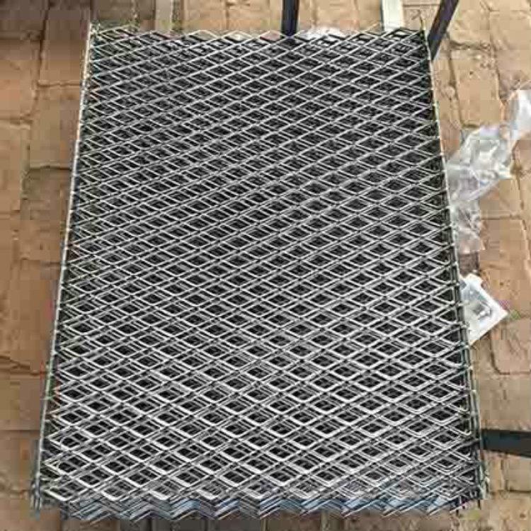 亚奇钢板网系列:脚踏板楼房工人钢笆踏板-电厂楼梯钢板网示例图4