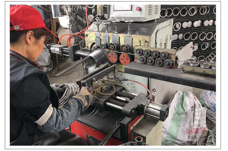 厂家供应各种除尘器配件 除尘骨架口底 除尘框架头底盖示例图14