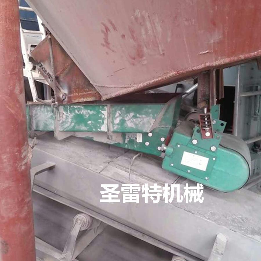 圣雷特给料机-敞开式电磁震动给料机-板材砂石生产料仓专用振动喂料机示例图2