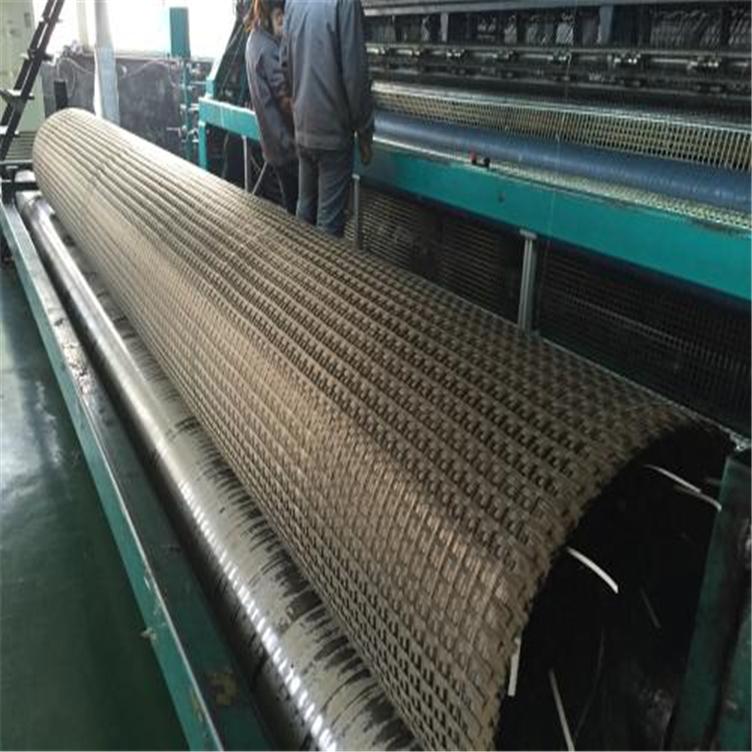 福州土工格栅厂家 塑料pe单向土工格栅 路面补强玻纤土工格栅 路基加筋塑料双向格栅示例图7