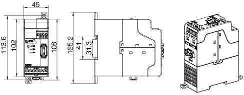 安科瑞AGF-M16T智能光伏汇流采集装置示例图4