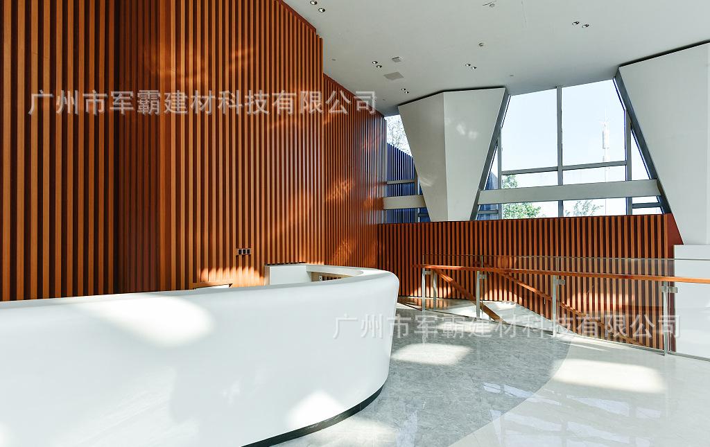 廣州廠家定制加工 木紋鋁方管 200200幕墻天花鋁四方管 來樣定做示例圖11
