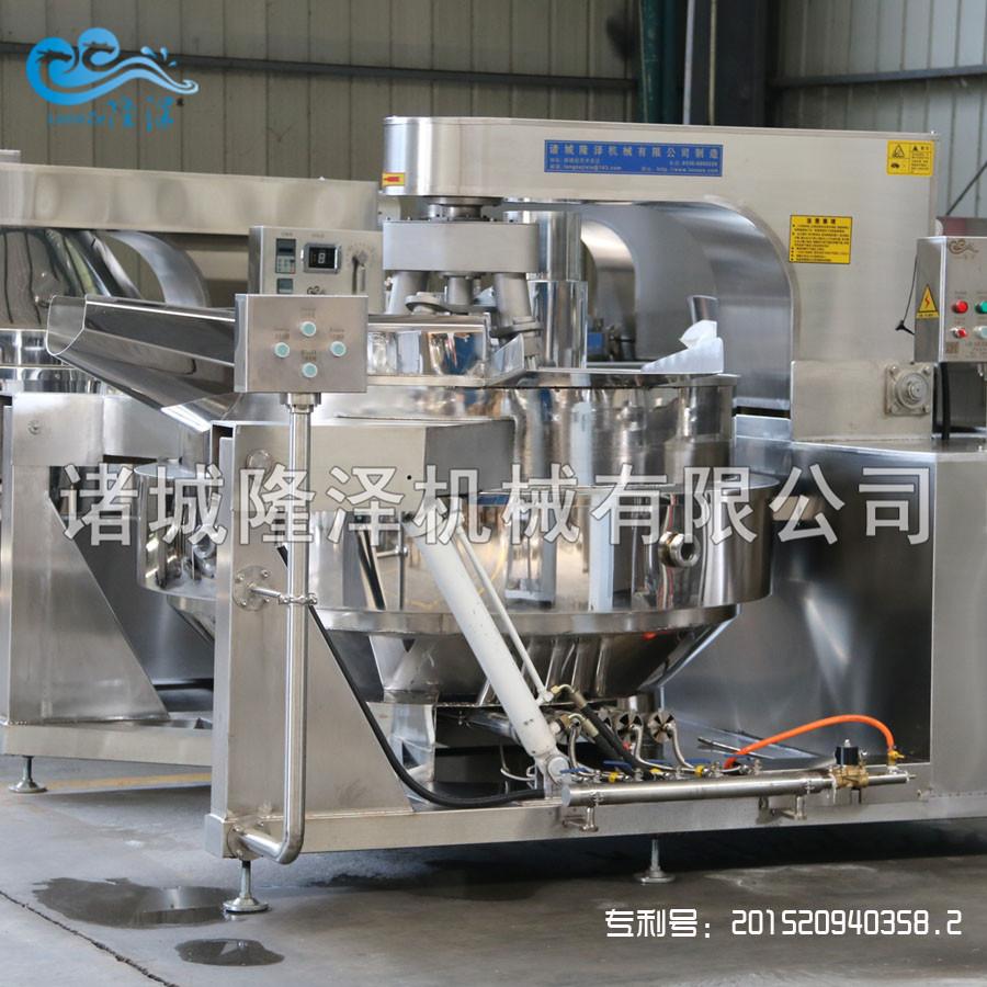 隆泽全自动大型多功能炒菜机 工厂食堂用炒菜机 易清洗示例图9