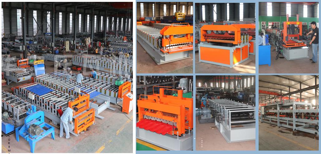 华宇全自动复合板机 岩棉夹心板生产设备 180mm胶轴岩棉机 彩钢复合板生产线示例图2