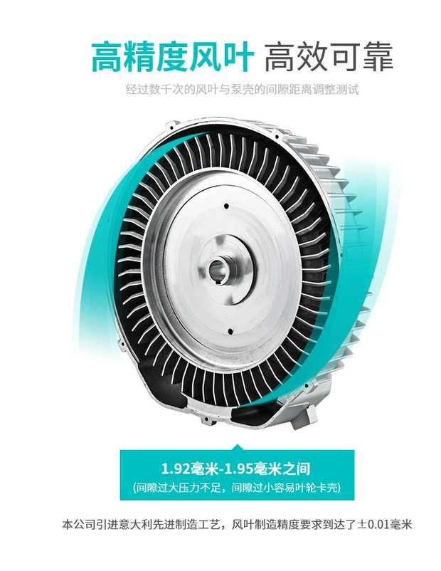 洗瓶机吹干风机/纽瑞高压风机/RH-810-2高压鼓风机现货示例图5