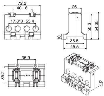 安科瑞AGF-M16T智能光伏汇流采集装置示例图10