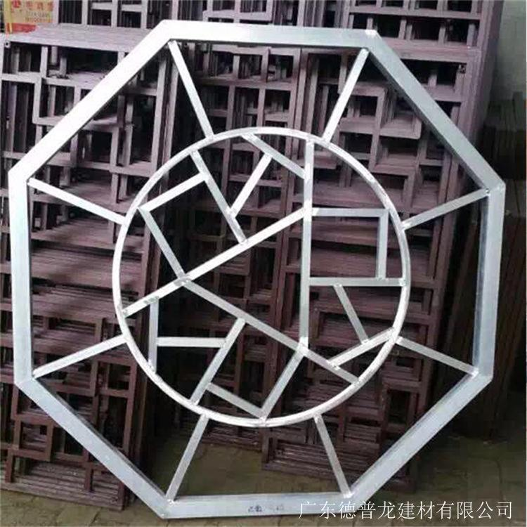 工程专用仿木纹铝窗花 铝窗花价格 仿木铝窗花厂家示例图6