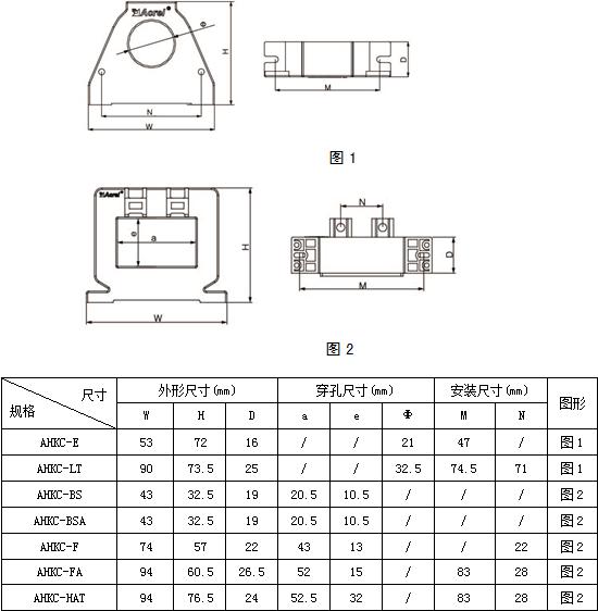 安科瑞霍尔开口式开环电流传感器示例图6