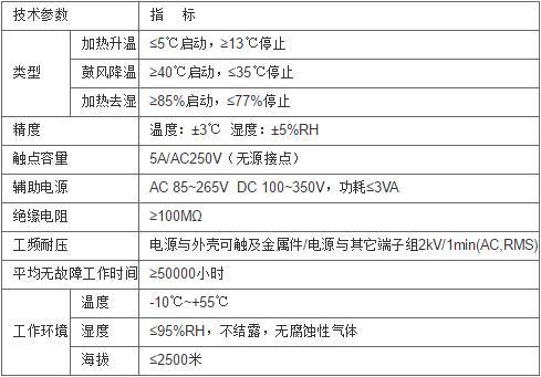 安科瑞WHD48-11温湿度控制器示例图1
