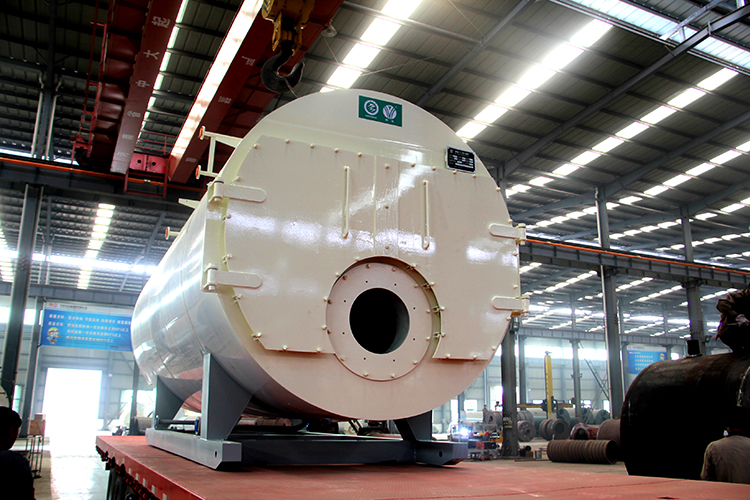 WNS 型燃气蒸汽锅炉 燃油蒸汽锅炉 蒸汽锅炉 燃油锅炉 燃气锅炉示例图1