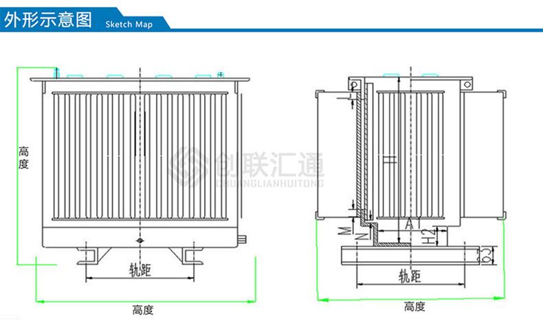 支持定制S11-MRD地埋式变压器 250kva地埋式变压器价格-创联汇通示例图4
