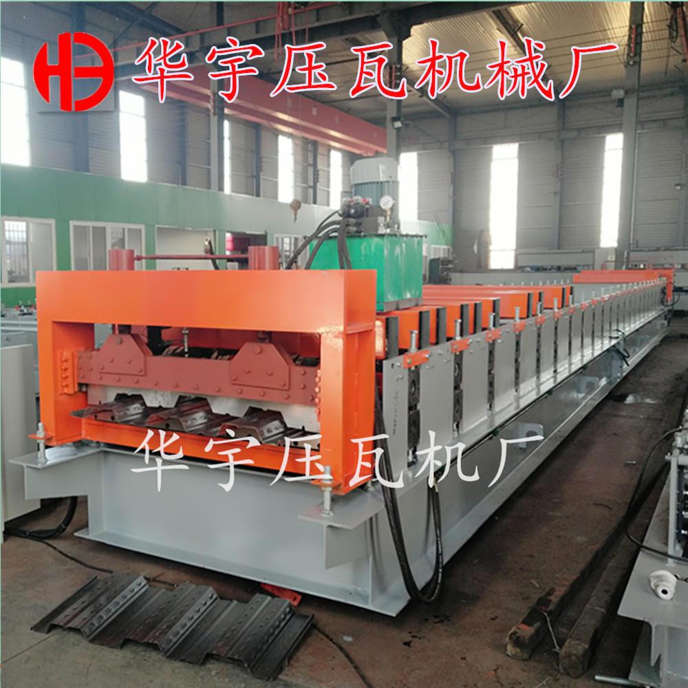 河北泊头楼承板机厂家 生产1025楼层板机 楼板成型设备示例图10
