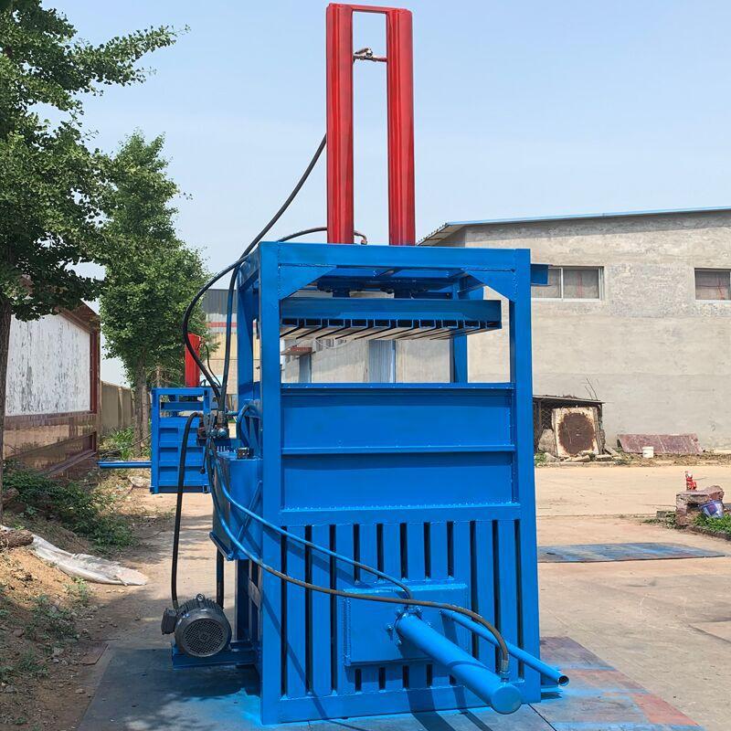 废纸专用液压打包机 60吨油漆桶压扁机厂家 200L油漆桶压扁机示例图12