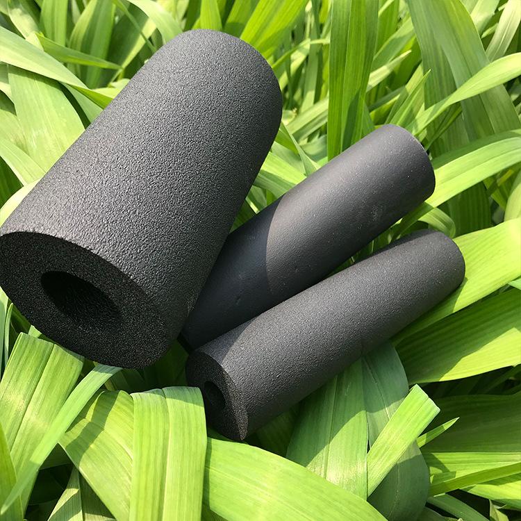 厂家直销彩色橡塑管保温材料耐高温隔热建材高密度橡塑保温管示例图6
