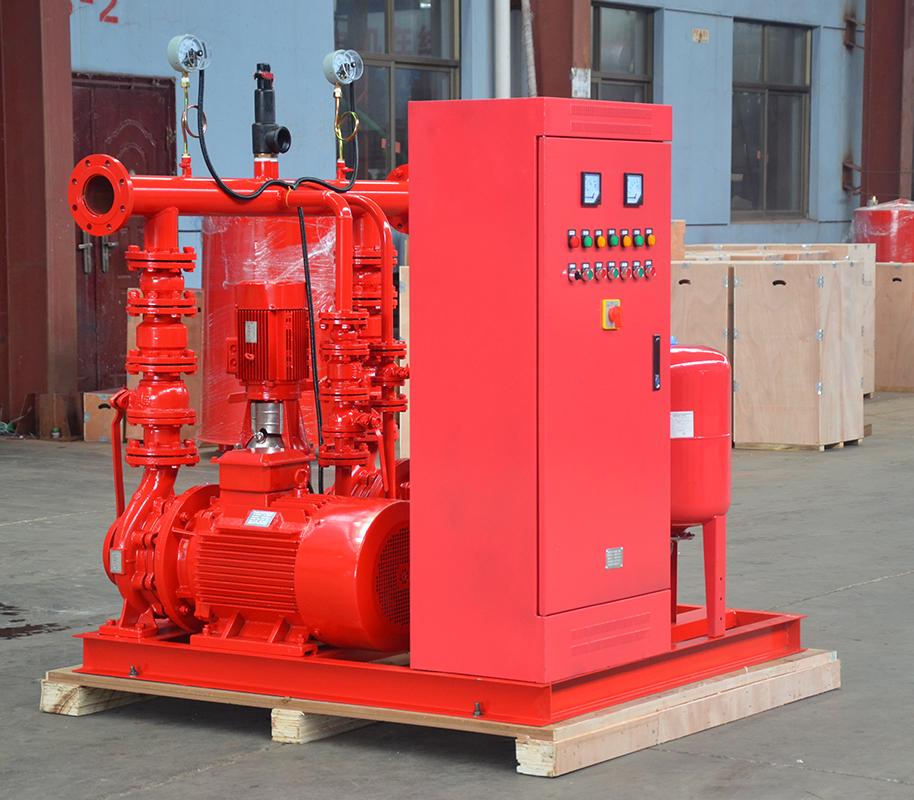 上海喜之泉EEJ3.0/15-2-GPM250 双动力消防泵,小型双动力消防泵,消防泵示例图2
