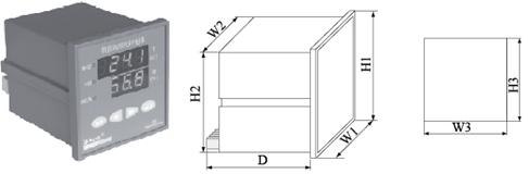 安科瑞WHD48-11温湿度控制器示例图8