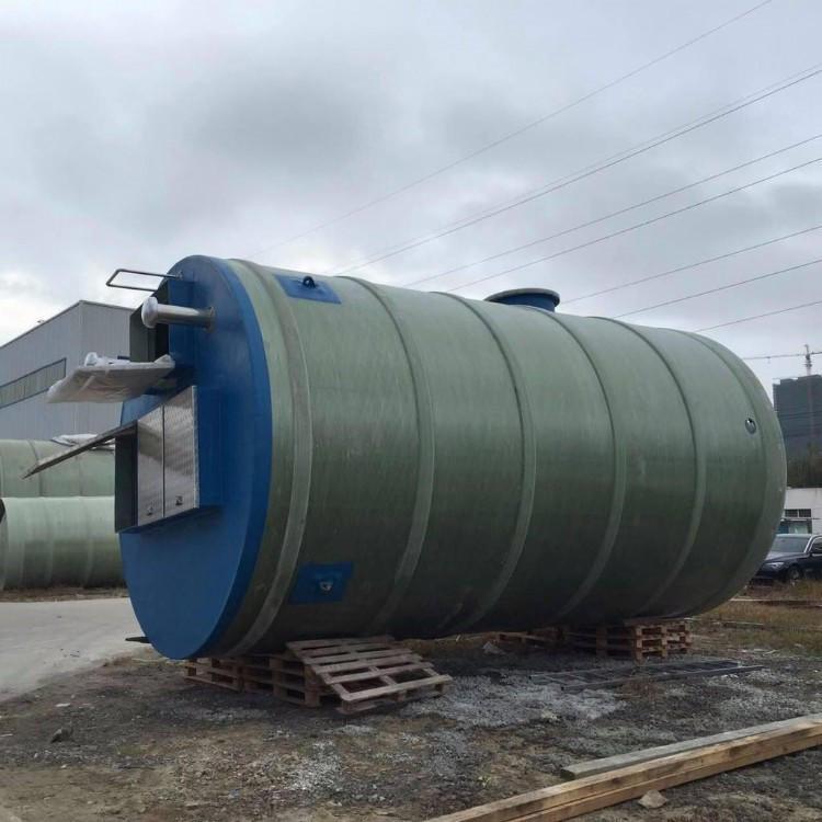 四川一体化泵站 一体化提升泵站 一体化雨水泵站 一体化污水泵站示例图3