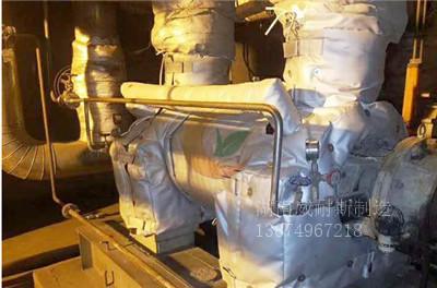泵体保温套 屏蔽泵保温衣 离心泵保温套 高温泵保温衣 可拆卸式耐高温隔热罩|示例图2