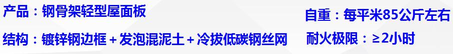 山東青島屋面板 鋼骨架輕型板 大型屋面板 天溝板 網架板 泄爆墻板 棧橋板 太空板 樓板 節能環保 A級防火示例圖5