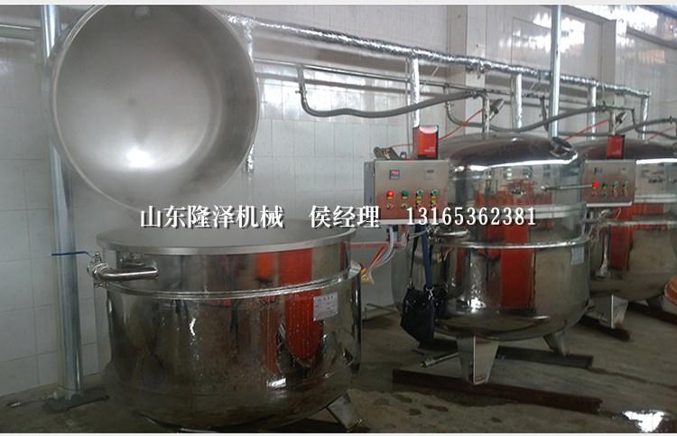 316不锈钢浸糖锅 梅子浸糖设备 广东果脯蜜饯生产机器价格示例图12
