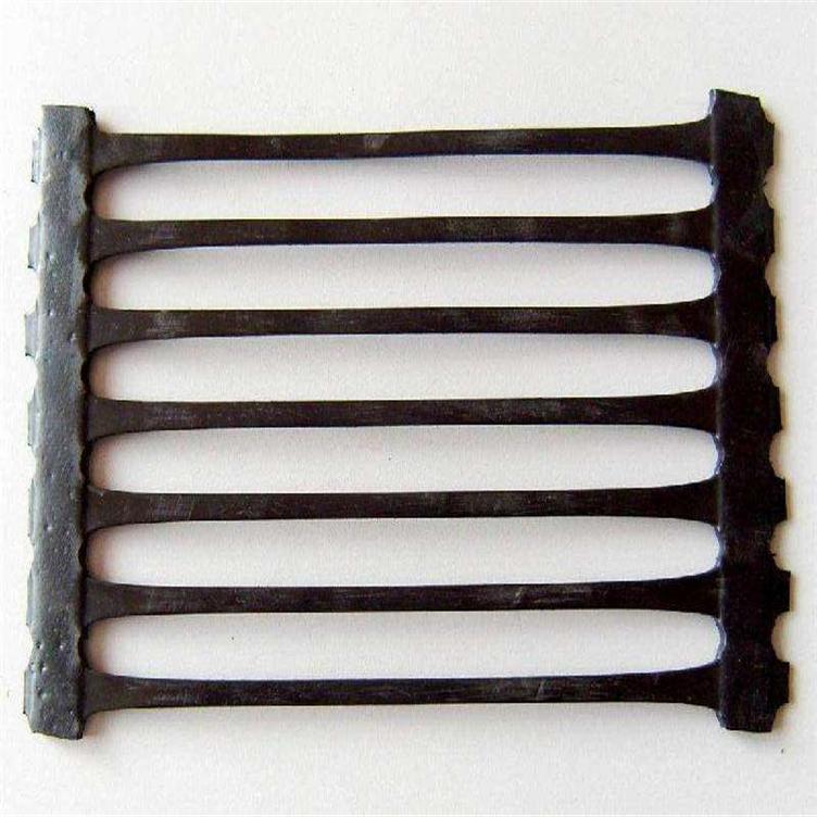 福州土工格栅厂家 塑料pe单向土工格栅 路面补强玻纤土工格栅 路基加筋塑料双向格栅示例图4