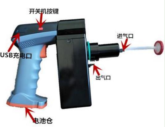 国产手持式PPB级VOC检测仪LB-CP-VOC 厂家路博示例图2