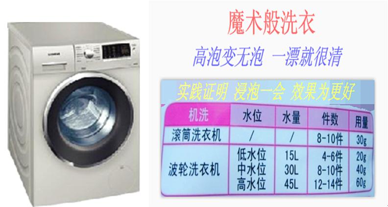 原装老外洗衣液 2kg装 一种高效柔软低泡洗衣液示例图6