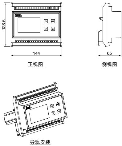 安科瑞AMC16Z-KA(D)多回路监控装置,量大从优示例图8