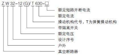 遥控操作10KV户外高压真空开关示例图1