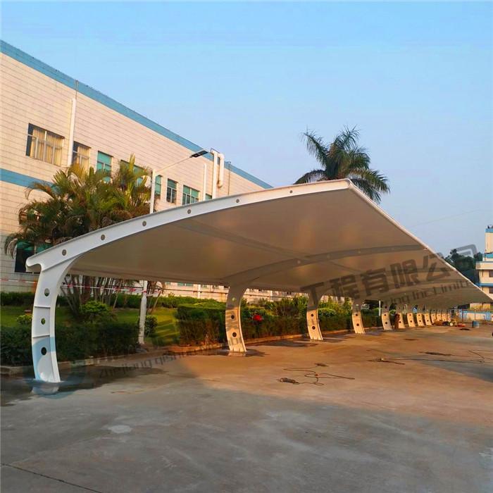 启顺葫芦岛车棚厂家,锦州膜结构车棚厂家,辽宁自行车充电车棚厂家示例图23