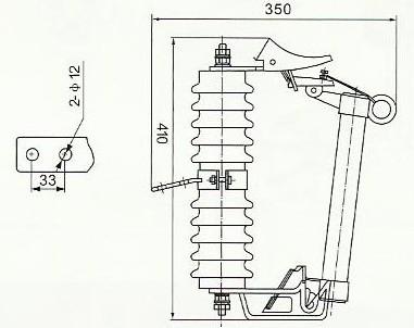 RW11-12跌落保险10KV高压熔断器示例图4
