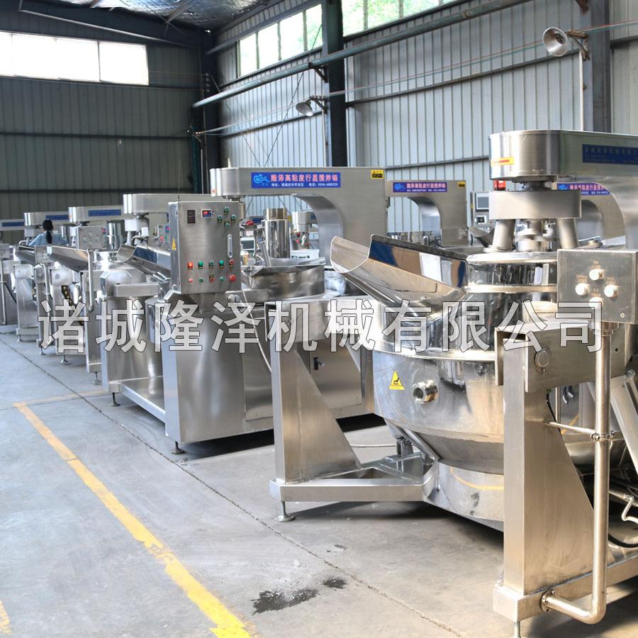 隆泽全自动大型多功能炒菜机 工厂食堂用炒菜机 易清洗示例图5