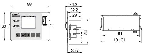 安科瑞AGF-M16T智能光伏汇流采集装置示例图11