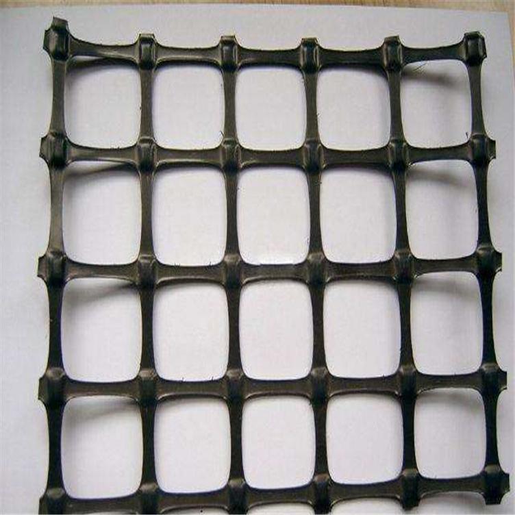 福州土工格栅厂家 塑料pe单向土工格栅 路面补强玻纤土工格栅 路基加筋塑料双向格栅示例图2