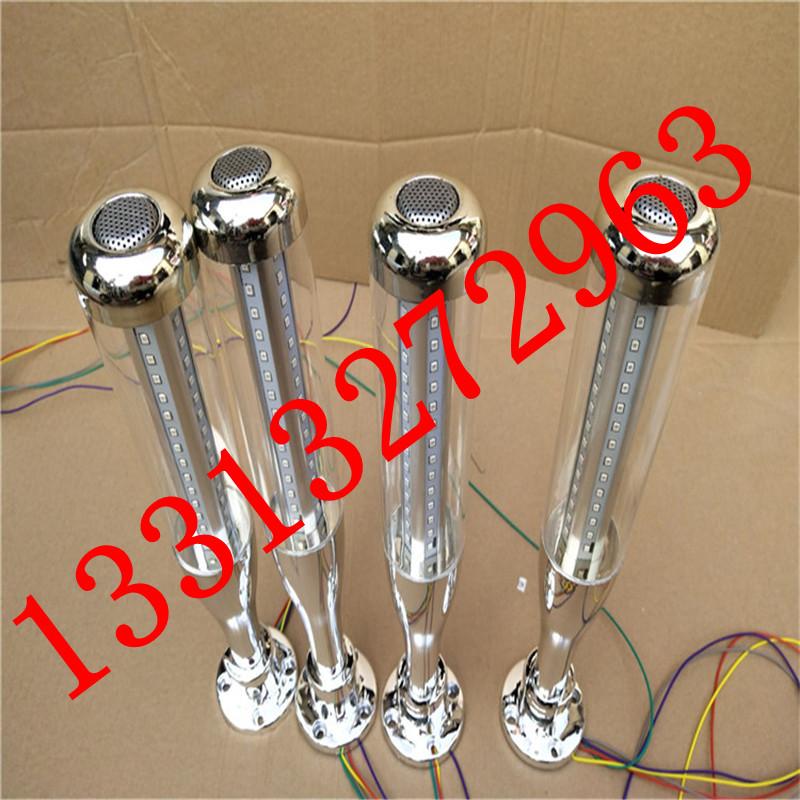 LED三色灯24V LED警示灯 三色指示灯 机床多层信号灯 可蜂鸣常亮示例图1