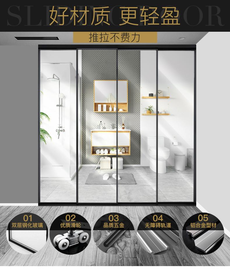 深圳平开窗别墅门窗平开门推拉门厂价直销示例图2