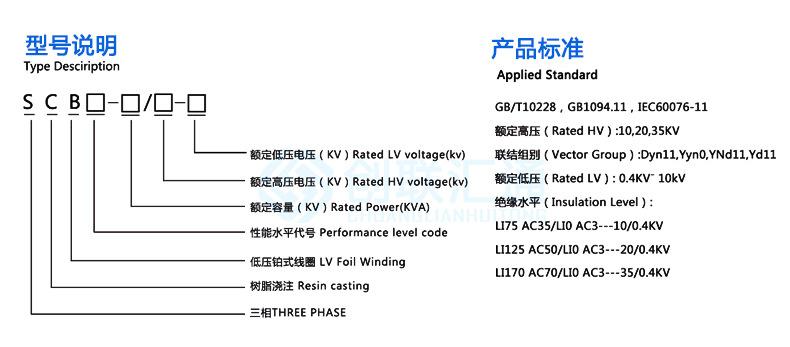 SCB10-400kva系列干式变压器 三相配电变压器 电力变压器 专业定制-创联汇通示例图8