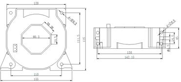 安科瑞霍尔开口式开环电流传感器示例图9
