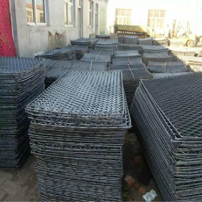 亚奇钢板网系列:脚踏板楼房工人钢笆踏板-电厂楼梯钢板网示例图8