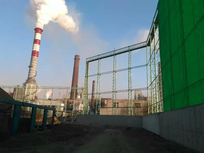 尼龙柔性防风网,防风屏障,煤场挡风墙,煤场防风防尘屏障示例图19