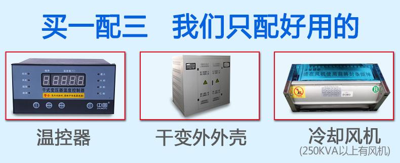 1000kva干式变压器scb10 三相全铜线圈防火质保3年厂家直销货到付款示例图3