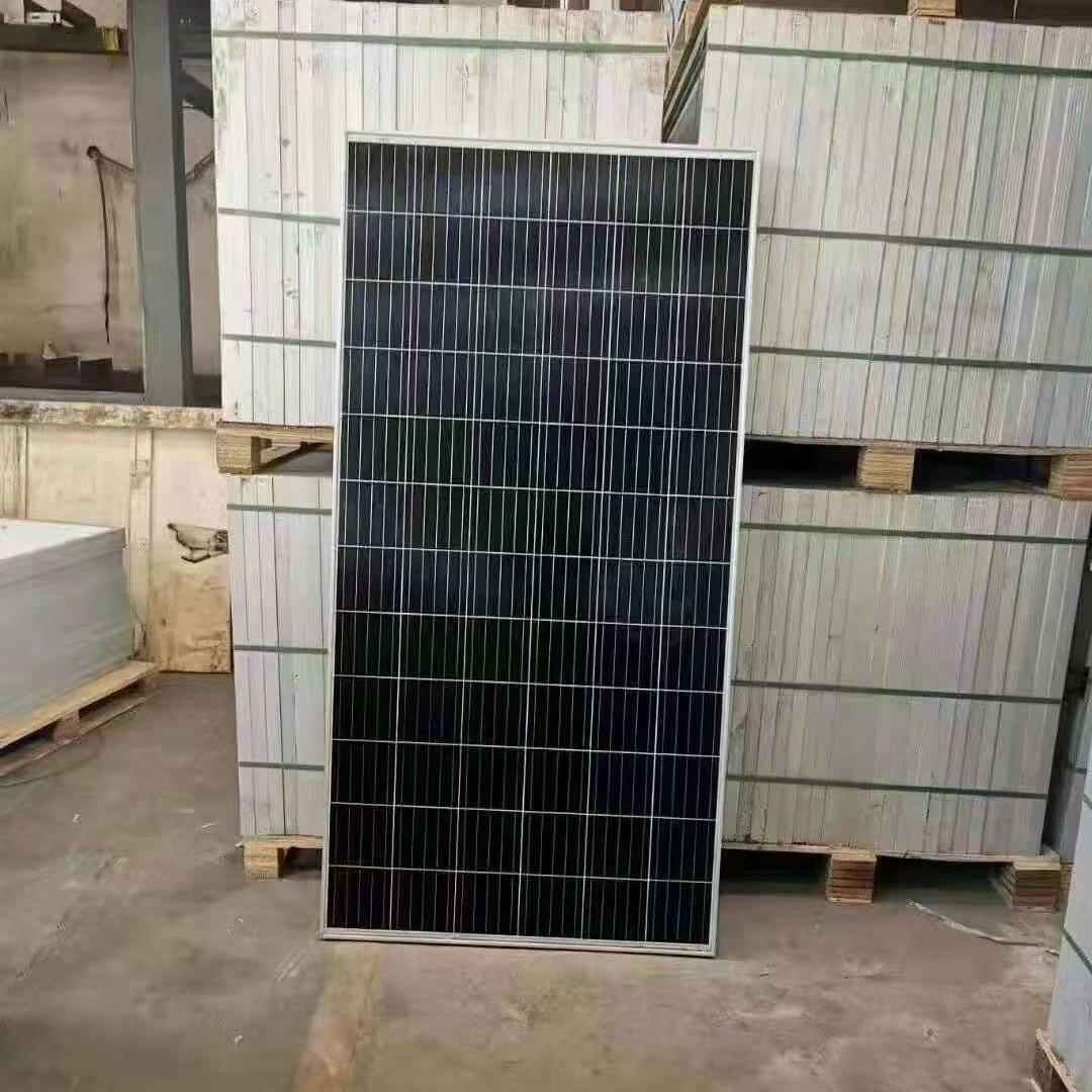 二手光伏板回收 太阳能光伏组件回收  鑫晶威上门回收安全靠谱
