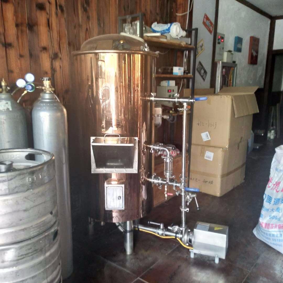 自酿啤酒设备厂家直销糖化发酵设备