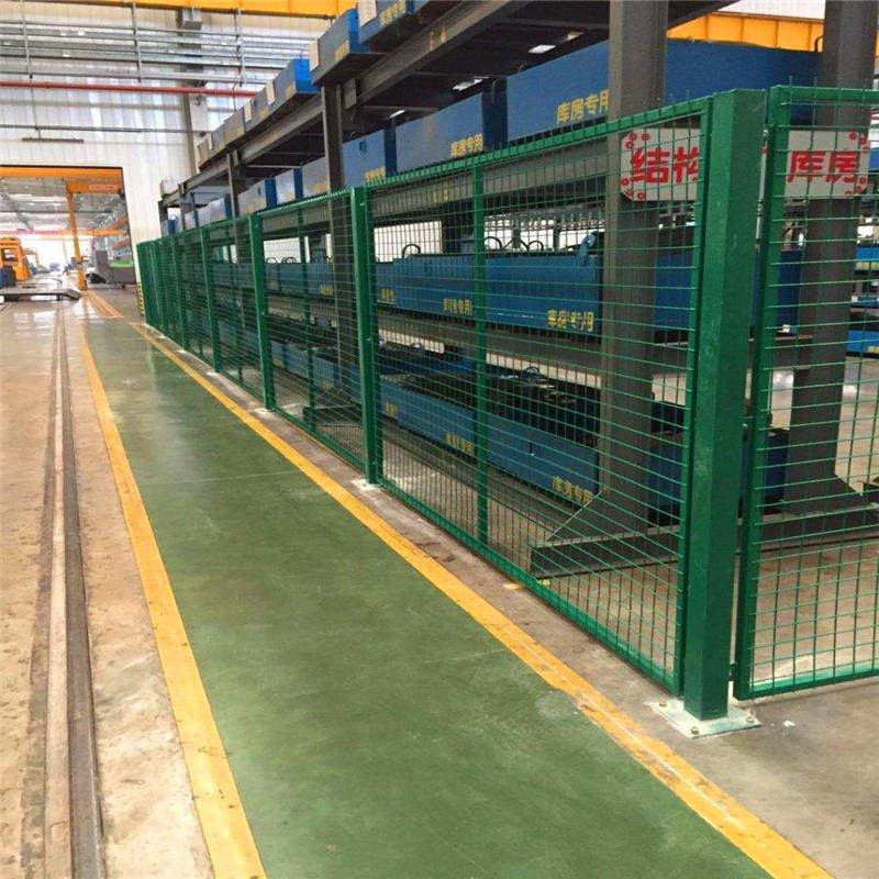 普合廠家定做價格 攤位圍欄 室內圍欄 設備圍欄 倉儲圍欄