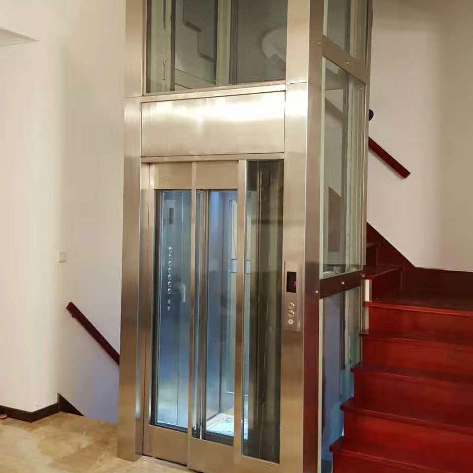 家用小型电梯 室内两层三层 家用电梯 家用电梯复试阁楼电梯