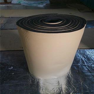 廠家直銷橡塑保溫棉 B1級阻燃橡塑海綿保溫板 隔音吸聲橡塑板